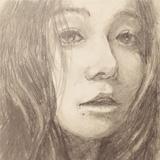 女の子のイラスト,デッサン